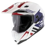 Caberg Xtrace Lux White Red Blue_
