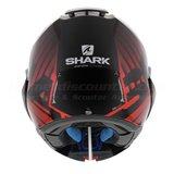 Shark Evo-One 2 Lithion Dual black chrom red_