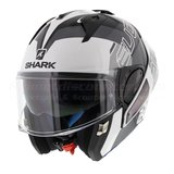 Shark Evo-One 2 Slasher white black silver_