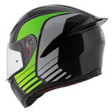 AGV K1 Power Gunmetal White Green_