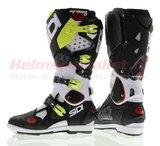 Sidi Crossfire 2 SRS Offroad Boots White Black Yellow_