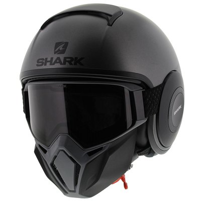 Shark Street Drak Neon Serie - Matt Anthracite Black