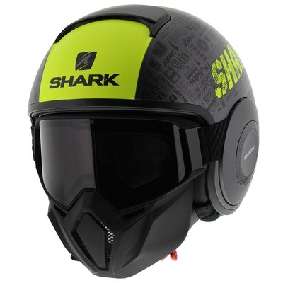 Shark Street Drak Tribute matt anthracite yellow
