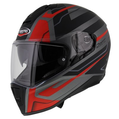 Caberg Drift Shadow Matt Gun Metal Red Black