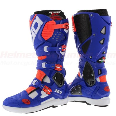 Sidi Crossfire 3 SRS Blue Red Fluo