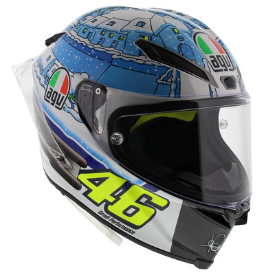 AGV Pista GP R Rossi Winter Test 2017 Limited Edition - CLEAR OUT SALE!
