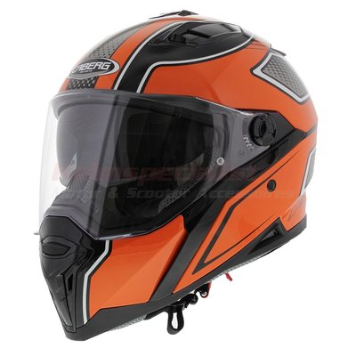 Caberg Stunt Blade Black Orange (Pinlock Included)