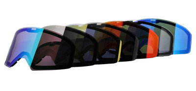 Colored Lenses for Shark Street-Drak Premium Goggles