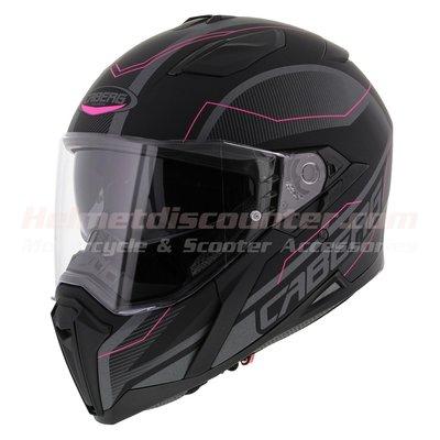 Caberg Jackal Supra matt black pink