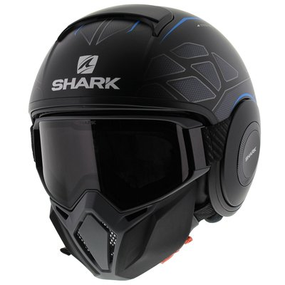 Shark Street Drak Hurok Matt Black Blue