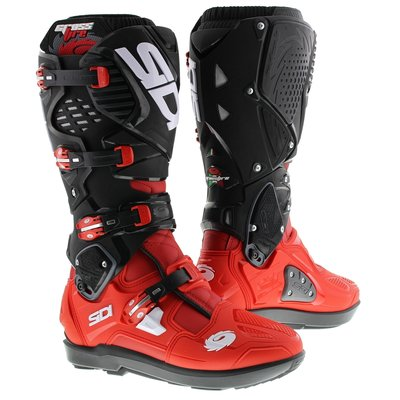 Sidi Crossfire 3 SRS Red Red Black