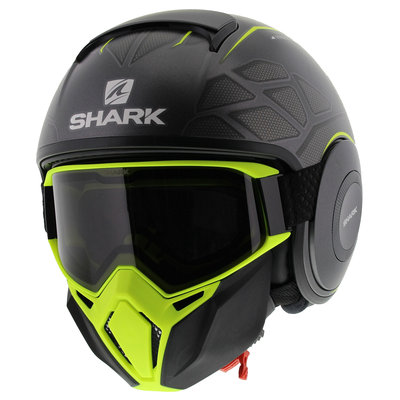 Shark Street Drak Hurok Matt Anthracite Black Yellow