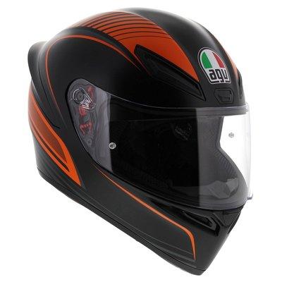 AGV K1 WarmUp Matt Black Orange