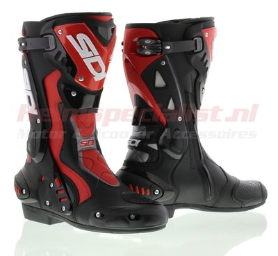 Sidi ST motorcycle boot black/red