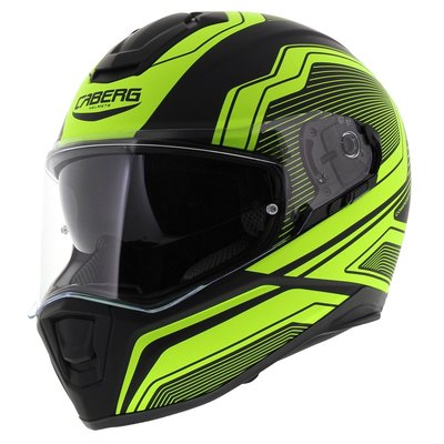 Caberg Drift Flux Matt Black Fluo Yellow