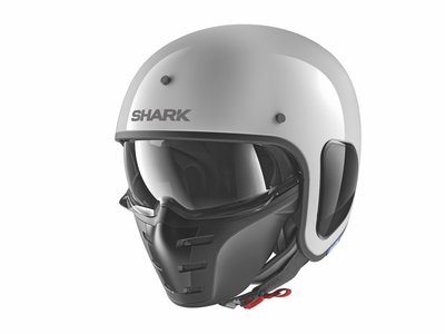 Shark S-Drak Blank Gloss White