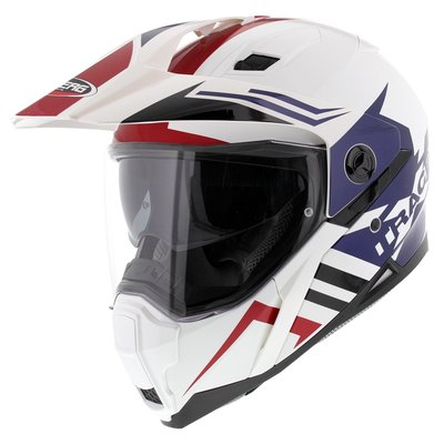 Caberg Xtrace Lux White Red Blue