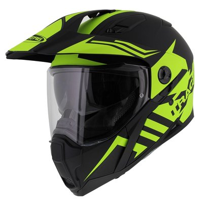 Caberg Xtrace Lux Matt Black Fluor Yellow
