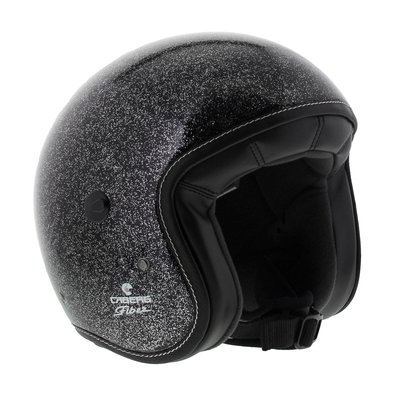 Caberg Jet Freeride Metalflake Black