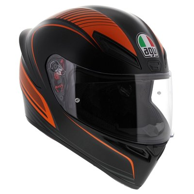 AGV K1 WarmUp Matt Black Orange