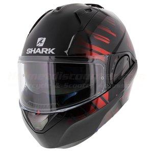 Shark Evo-One 2 Lithion Dual black chrom red