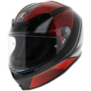 AGV K6 Hyphen Black Red White