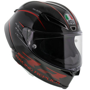 AGV Pista GP RR Performance Carbon Red